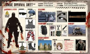 Zombie Survival Sheet by GameraGX