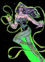 Wonder Woman As Green Lantern by theaven