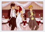The Wedding of Rory and Amy by stellacat