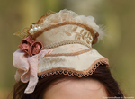 1870s Victorian Hat by VictorianRedRose