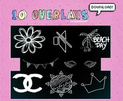 + 10 Overlays by natieditions00