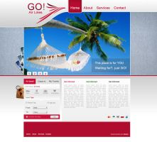 Site GO air lines by otavioz