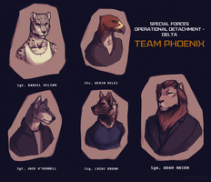 Team Phoenix by J-Harper