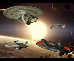 Osana Leads On - Gamma Fleet Operations by Dan1025