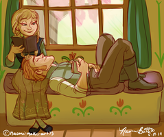 A Quiet Afternoon by naomi-makes-art73