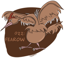 022: Fearow by Speedvore
