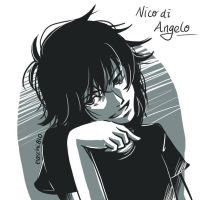Nico di Angelo by Tiaschi810