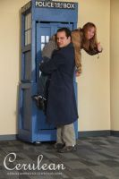 Doctor Who Photoshoot:Jack Harkness, not surprised by StrangeStuffStudios