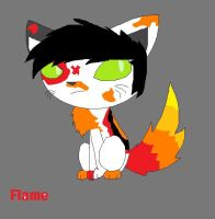 flame the kat by FennecHTF