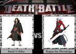 Itachi Uchiha vs. Ragna the Bloodedge by JasonPictures