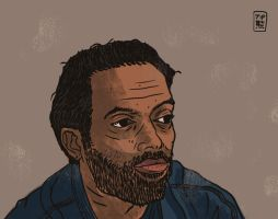 Theo Parrish by tedikuma