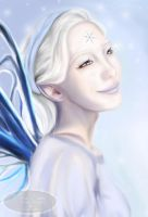 Snow Fairy by Tricia-Danby