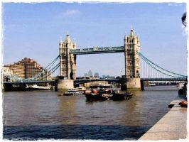 Tower Bridge - London by MiaCherri