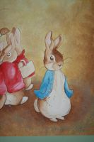 Beatrix Potter Mural Peter by Anvikit