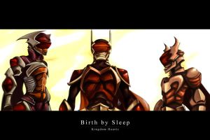 Birth by Sleep by charlestanart