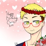 Happy birthday Chris by Jada-chan456