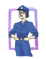 Officer Pauling by chewytriforce