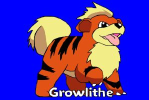 Growlithe by K3RI1
