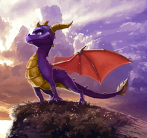 .:The Legend of Spyro - Dawn of the Dragon:. by WrappedUpFrodo