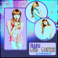 Png Pack #2:  4Minute Hyuna by starnot3s