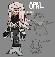 Opal the Echidna by AciTW