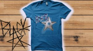 Qwertee Mockup Black Star by V.M. by The-Shadow-of-Dragon