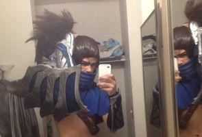 Yasuo The Unforgiven Cosplay by Winged-Mouz