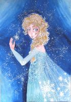 Snow Queen Elsa by YouCantSeeMee
