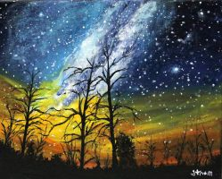 Milky Way Galaxy by ThisArtToBeYours