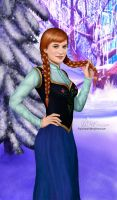 Anna of Arendelle by PovedaM