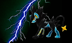 Luxray Wallpaper by Queen-Blanca