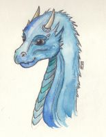 Young Saphira by princessmariposa
