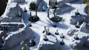 Imperial Invasion on Hoth by wolf74145