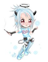 Gaia: Elfy Chibi for Vyvy by ronfy