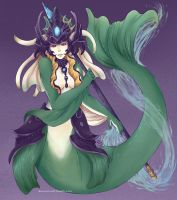 LoL - Nami by RuneScratch