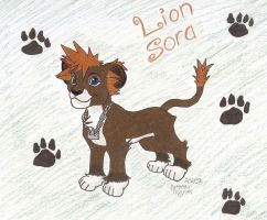 Lion Cub Sora by Sorasgirl24