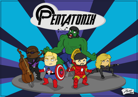 Pentatonix by F0NS0