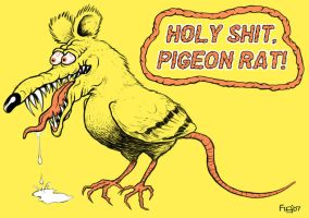Pigeon Rat by fig13