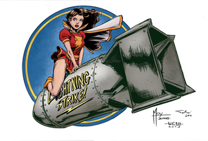 Bombshells Mary Marvel by tagoston16