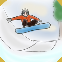 GH: Mei - Winter Olympics Day 8 Snowboarding by AvalonMelody