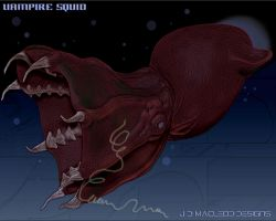 Vampire Squid by jdmacleod