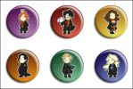 Harry Potter Buttons by Maxx-V
