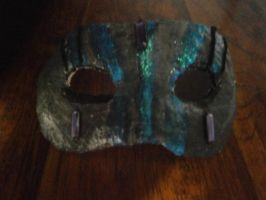 My awesome worrier mask by redfreak11