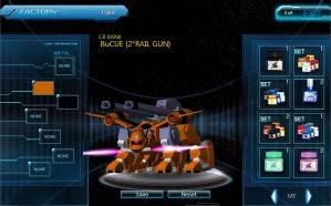 SDGO: BuCUE (Double Rail Cannon) Feral by GhosttheHedgehog12