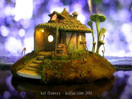 Faery Round House by myceliae