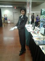 Sebastian Michaelis Cosplay Taiyou Con 2015 by Dead-Kitchen-Staff