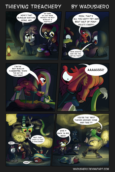 Thieving Treachery by Wadusher0