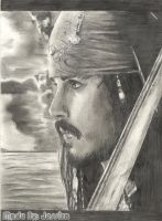 Jack Sparrow by ArtistsJointClub
