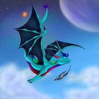 Dancing in the sky?- PC by ROXDragonz