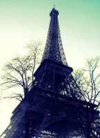 Eiffel Tower by Geena-x